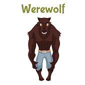 Scary werewolf, Halloween costume idea