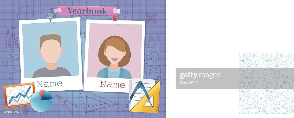 School album yearbook and mathematics