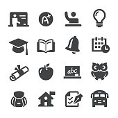 School and Education Icons - Acme Series
