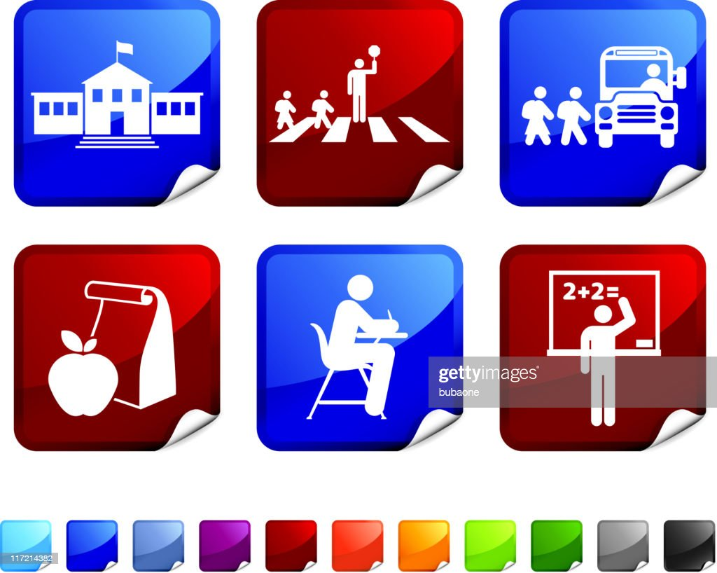 Red And Yellow School Bag Vector Illustration On White Background Royalty  Free Cliparts, Vectors, And Stock Illustration. Image 121232534.