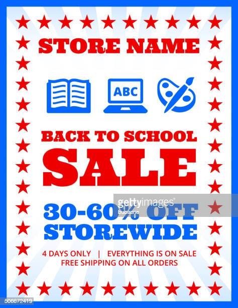 school and education Sale Banner