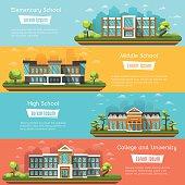 School and University buildings