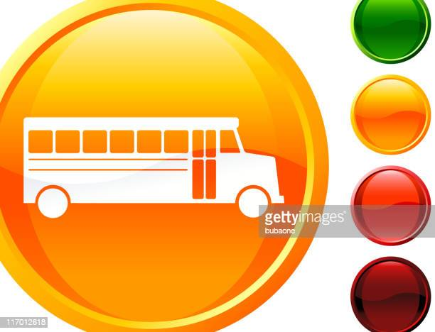 school bus internet royalty free vector art