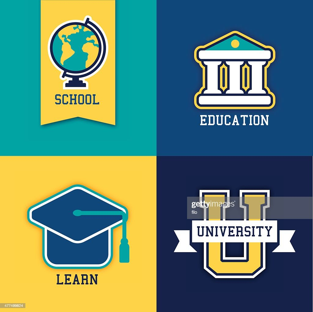 School College and University Symbols