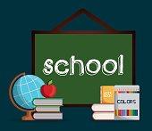 School design.  Education concept. Learning icon , vecto