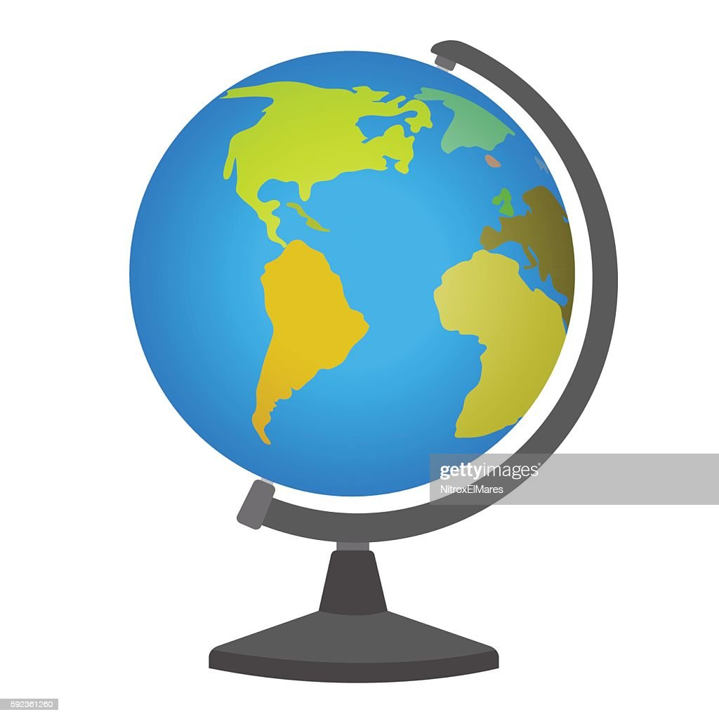 School desktop globe