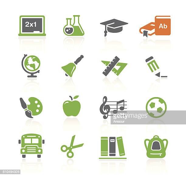 School & Education Icons | Spring Series