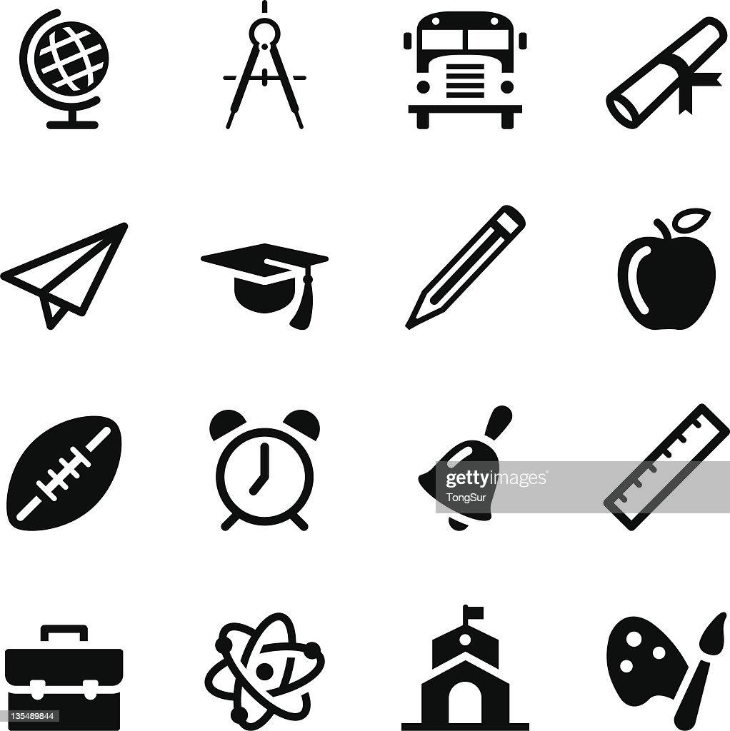 School Icons | set 1