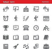 School Icons - Set 4