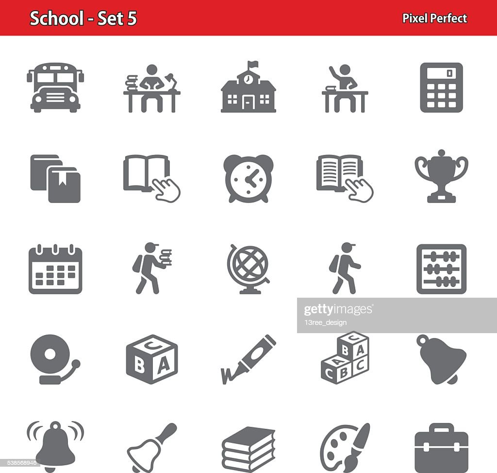 School Icons - Set 5