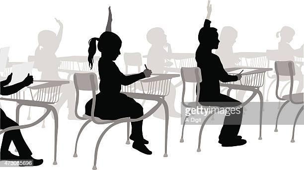 小学生のスクールガール