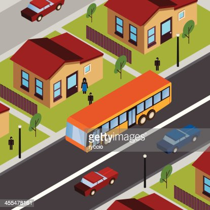 Schoolbus stop