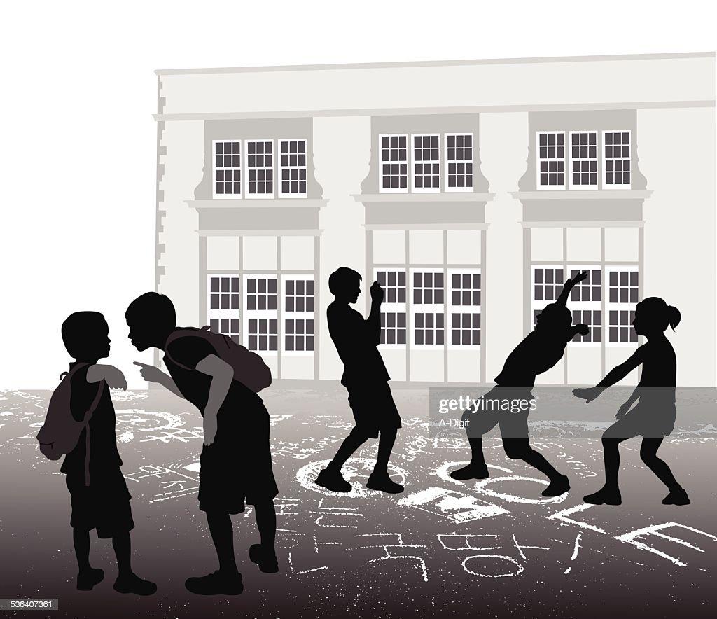 SchoolyardBully : Ilustración de stock