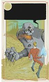 GIANT ROBOT sci fi book cover