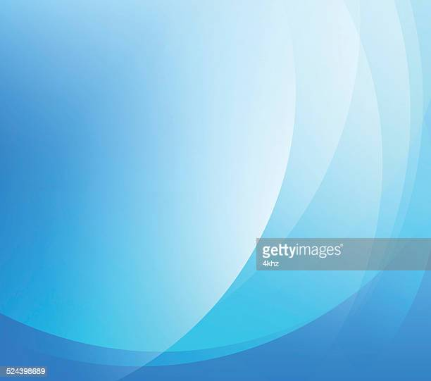 Science Abstract Smooth Blue Color Gradient Vector Background