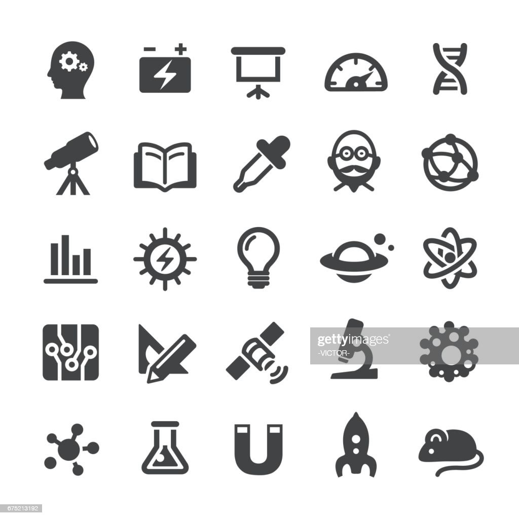 Science and Research Icons - Smart Series : stock illustration