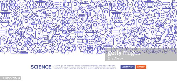 science banner - genetic modification stock illustrations