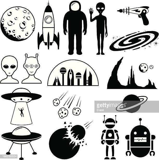 Símbolos de ficção científica