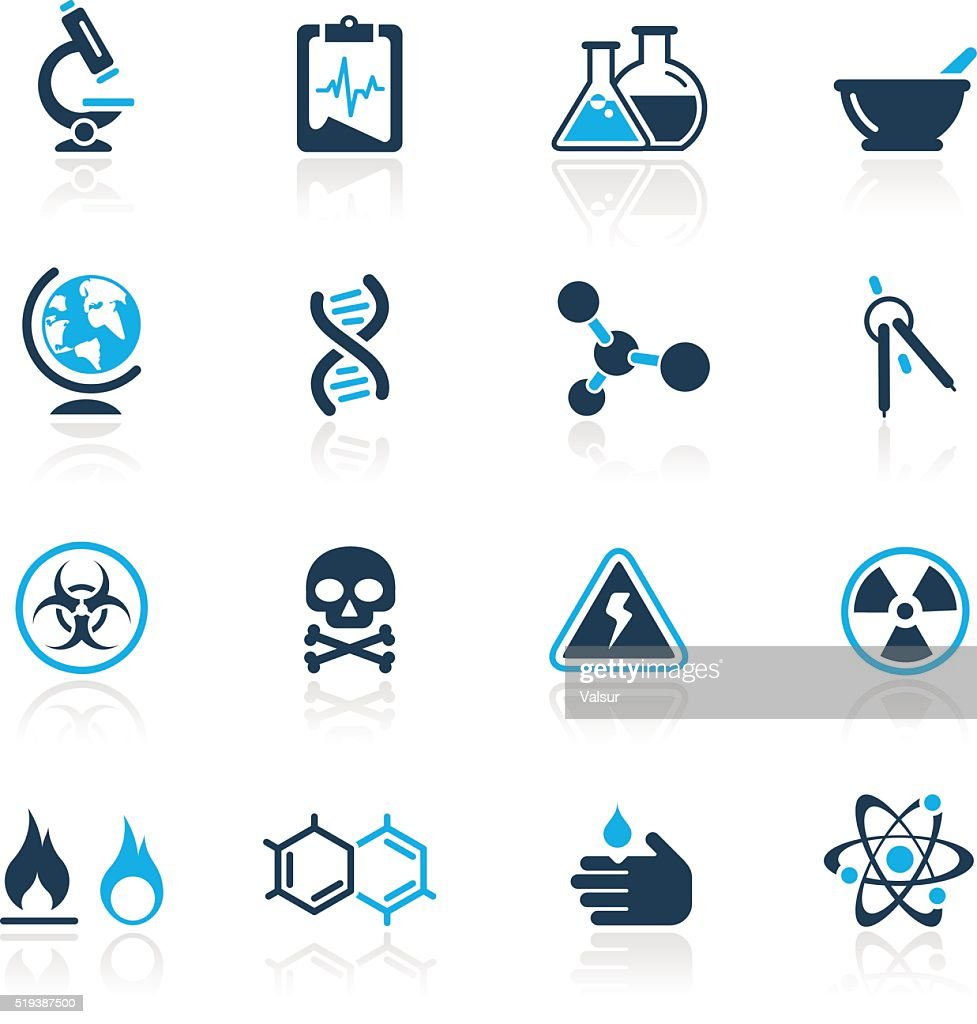 Science Icons // Azure Series