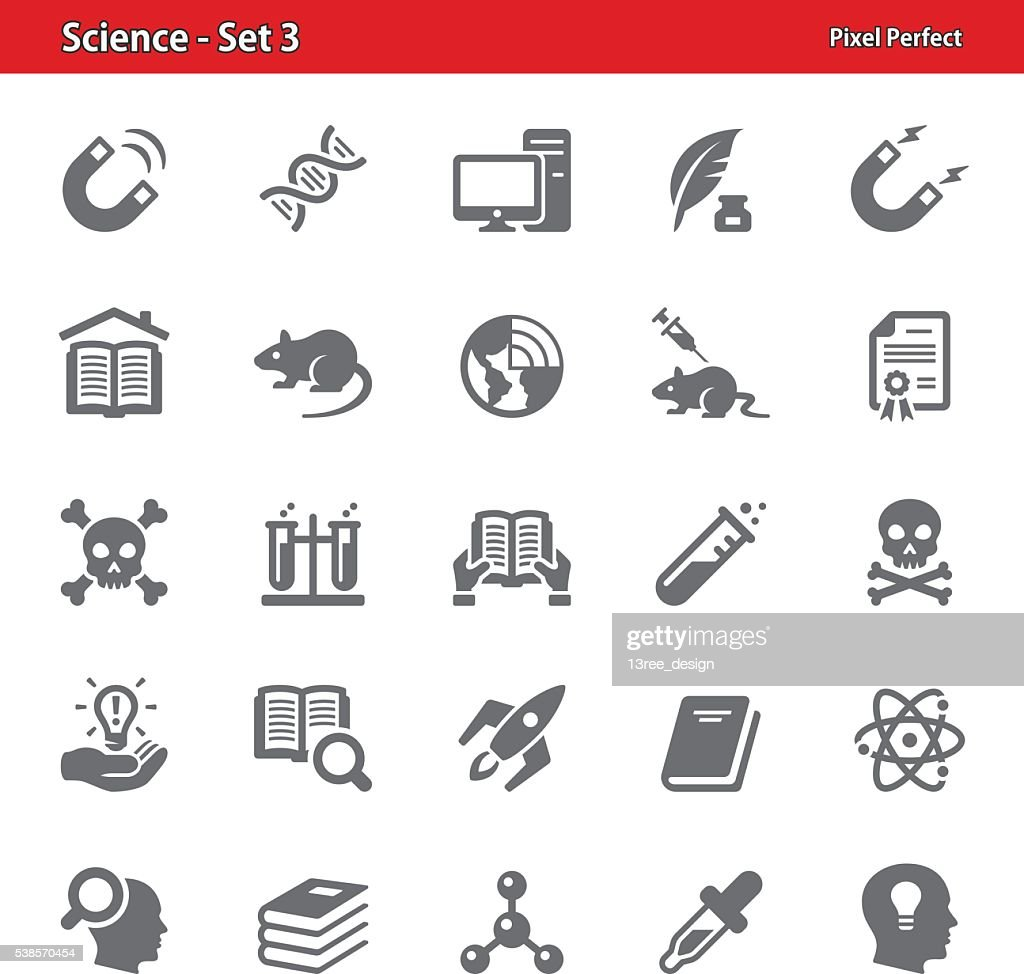 Science Icons - Set 3