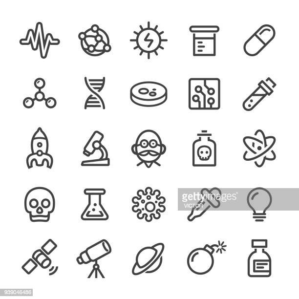 Science Icons - Smart Line Series