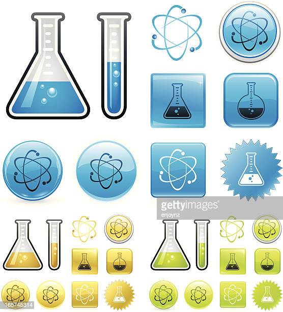 illustrations, cliparts, dessins animés et icônes de science icons - physics