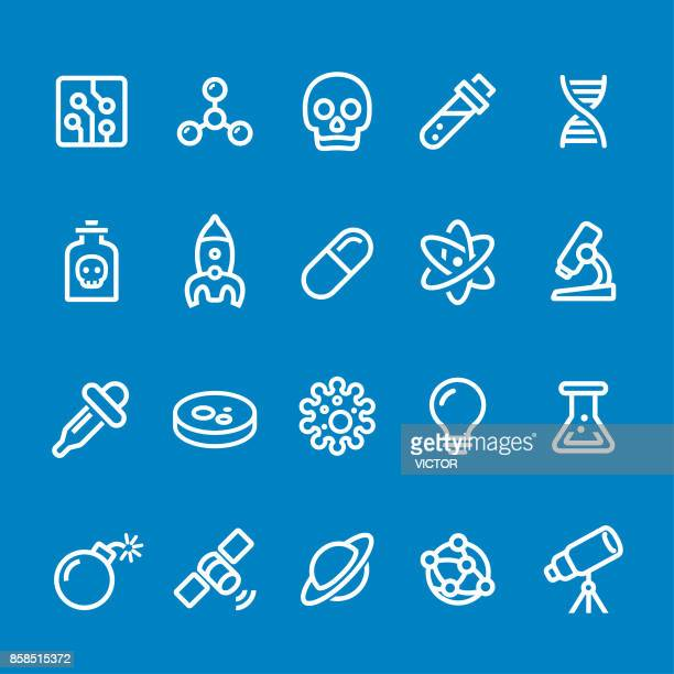 Science Icons - Vector Smart Line Series