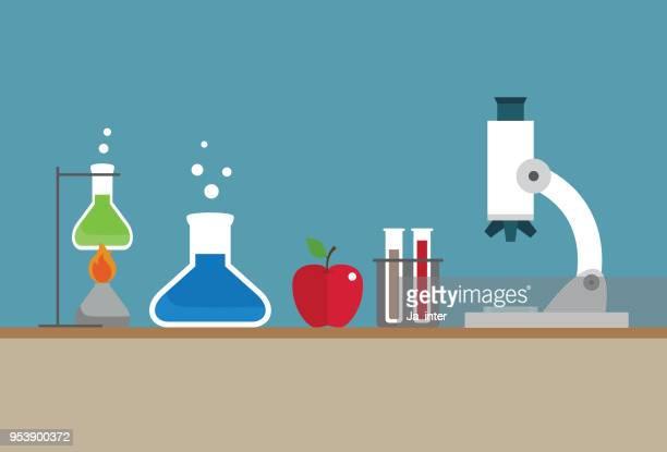 science illustration - genetic modification stock illustrations, clip art, cartoons, & icons
