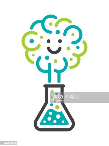 science is fun - chemistry stock illustrations