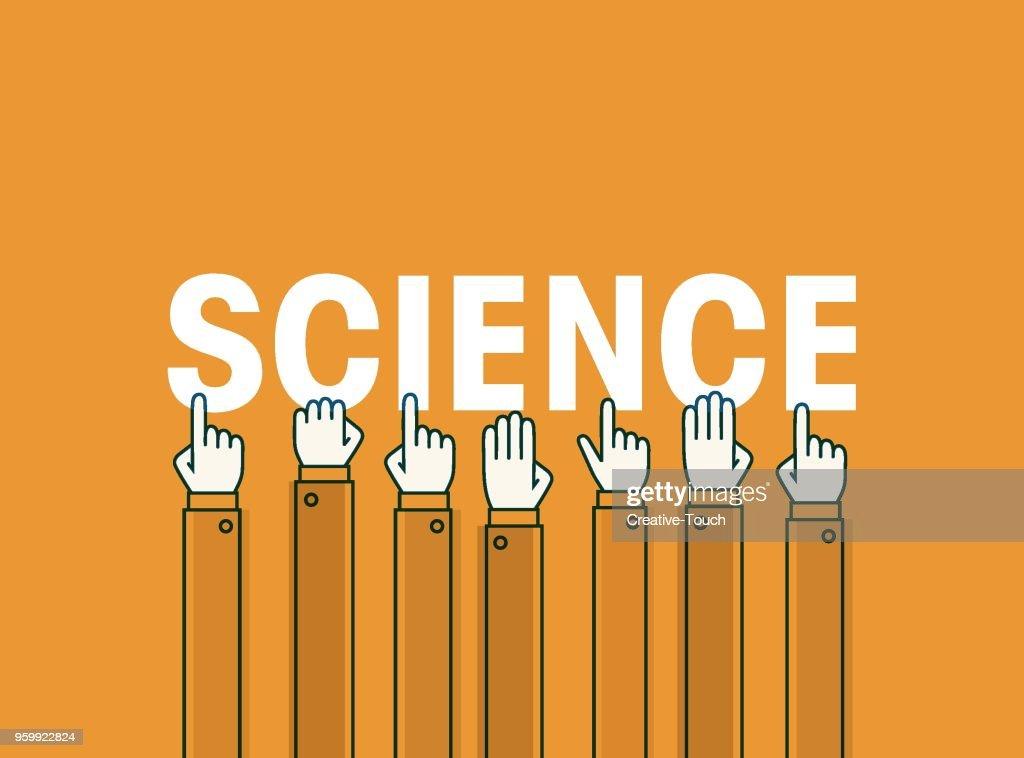 Wissenschaft : Stock-Illustration