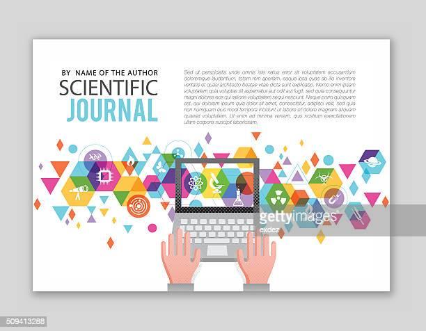 ilustrações, clipart, desenhos animados e ícones de científico arquivo de projeto - ciência