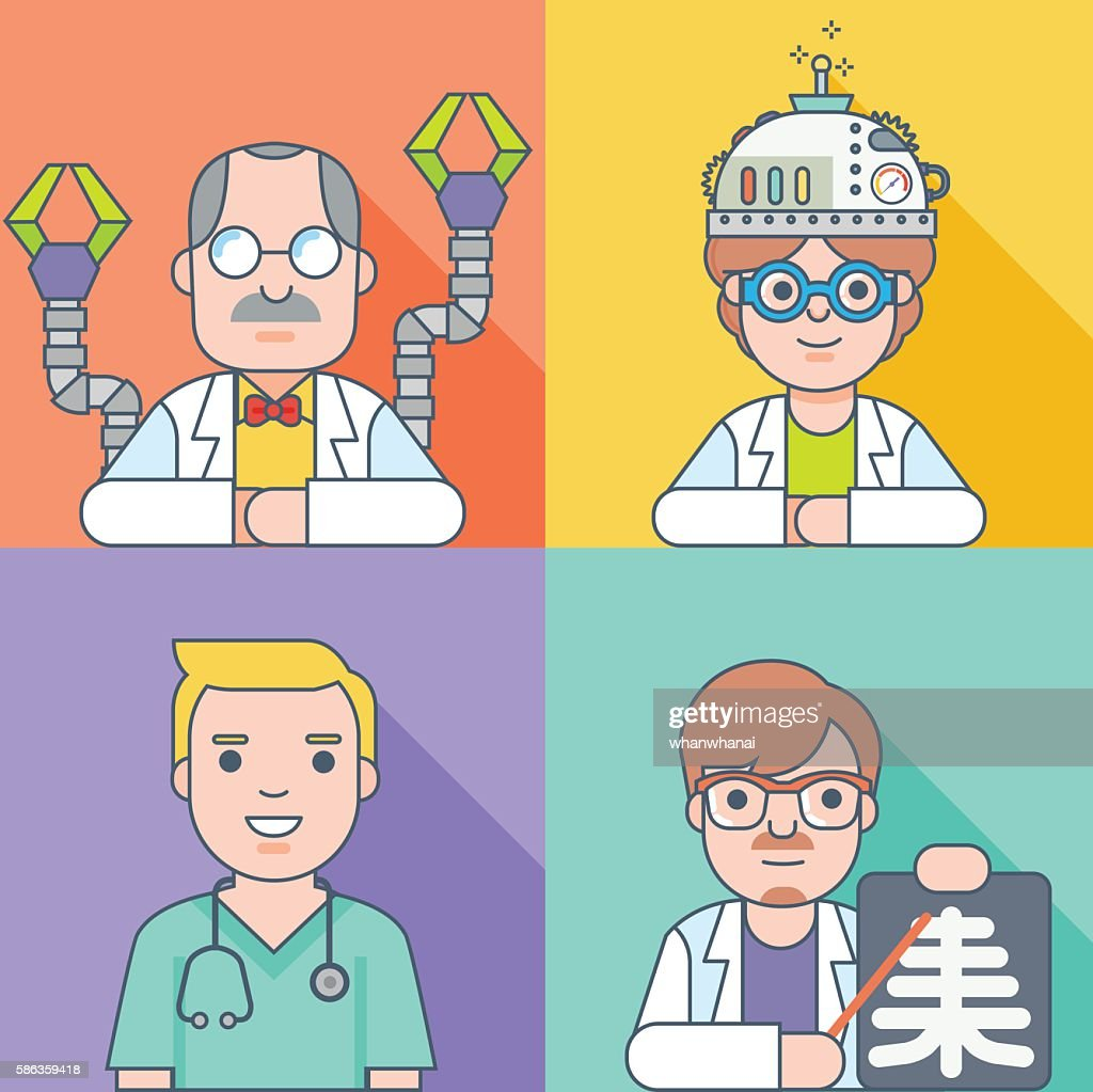 scientist and doctor