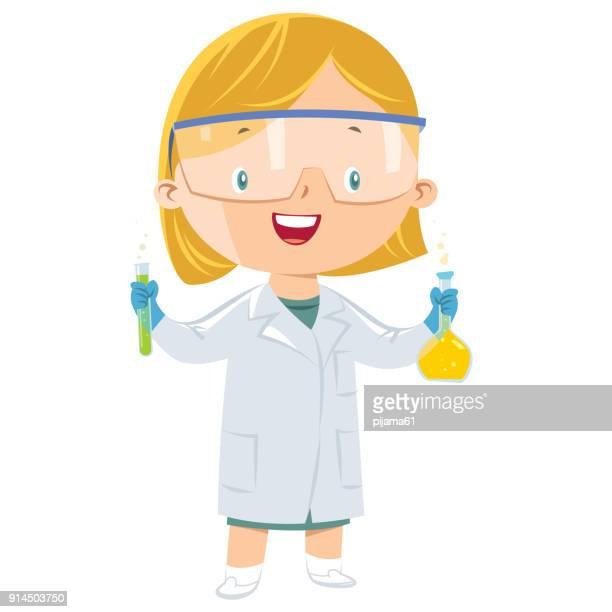 科学者の少女