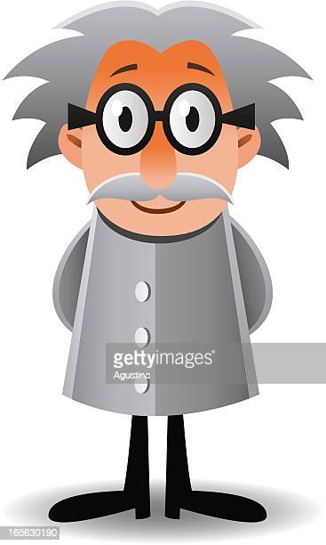 scientist - physicist stock illustrations, clip art, cartoons, & icons