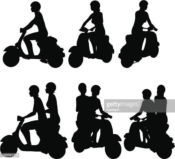 Scooter Silhouette Collection