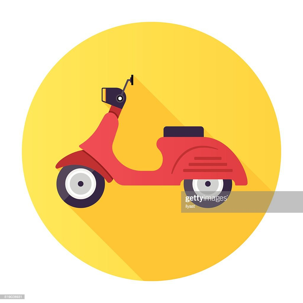 Scooter : stock illustration