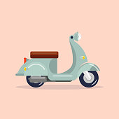 Scooter vintage style