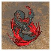scorpion grunge