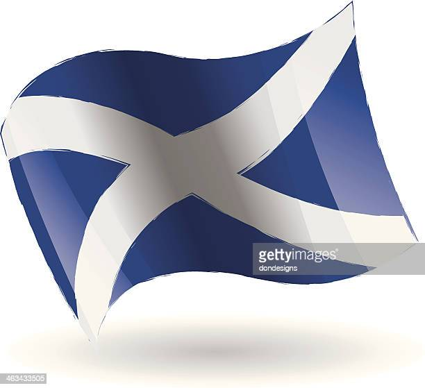 Scotland Flag Waving