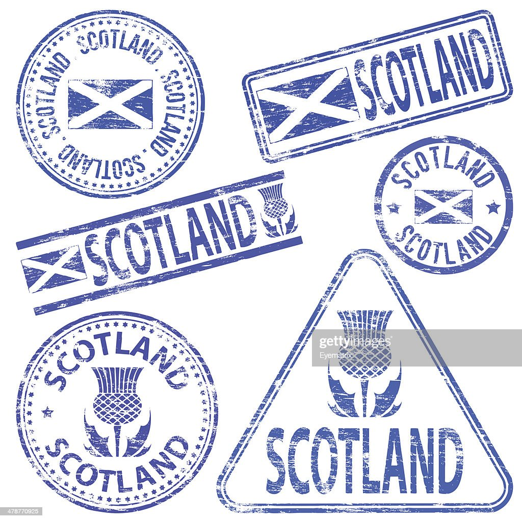 Scotland Rubber Stamps