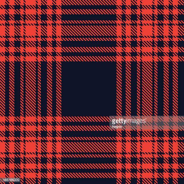 Scottish red tartan.