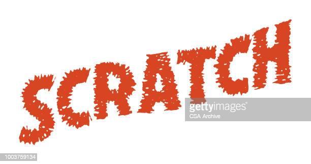 ilustraciones, imágenes clip art, dibujos animados e iconos de stock de arañazos - enfermedad de la piel