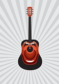 Screaming guitar