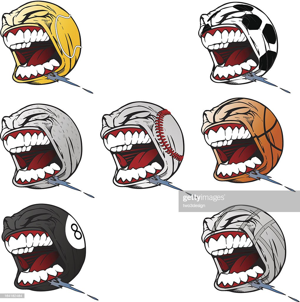 Screaming Sports Balls