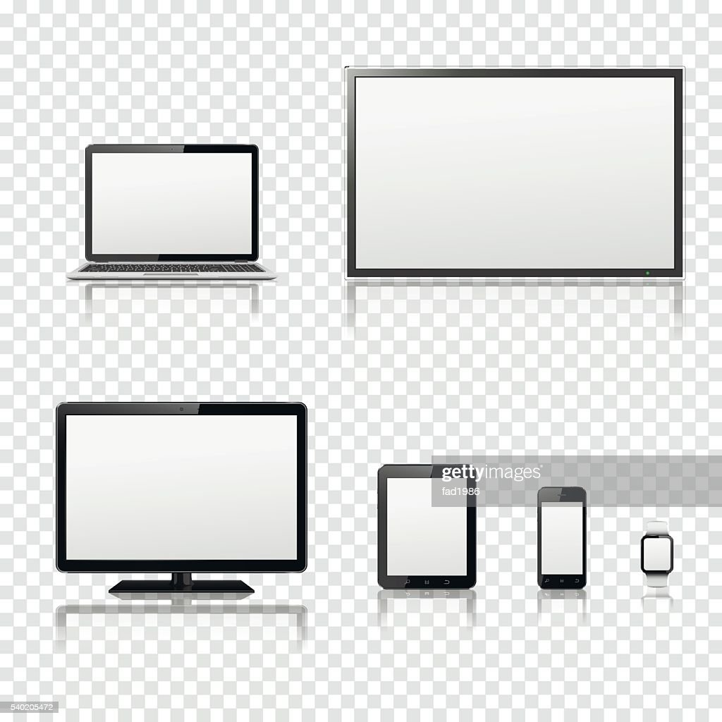 TV screen, lcd monitor, notebook, tablet computer, smartphone, smart watch