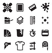 Screenprinting Icons