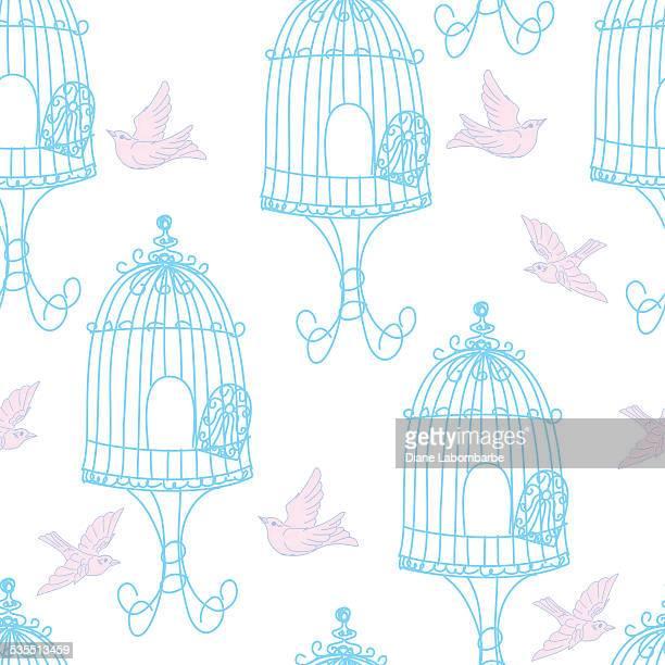 Illustrations Et Dessins Animes De Cage A Oiseaux Getty Images