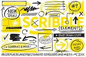 Scribble Design Elements