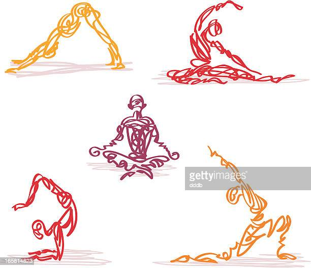 Scribbled Yoga