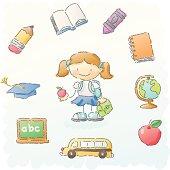 scribbles: school stuff